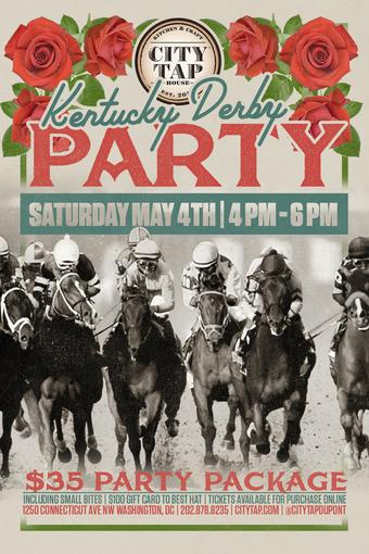 Kentucky Derby Open Bar Party
