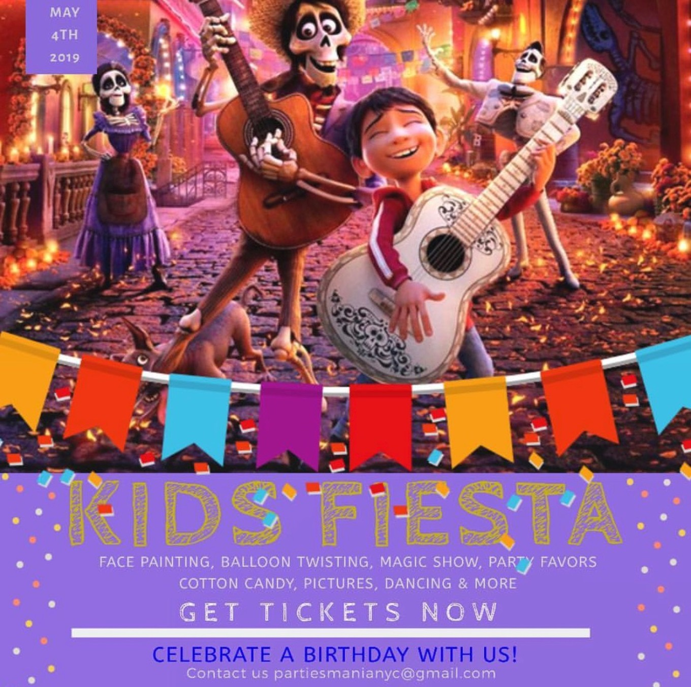 The Kids Coco Fiesta Tickets Doha Lounge Long Island