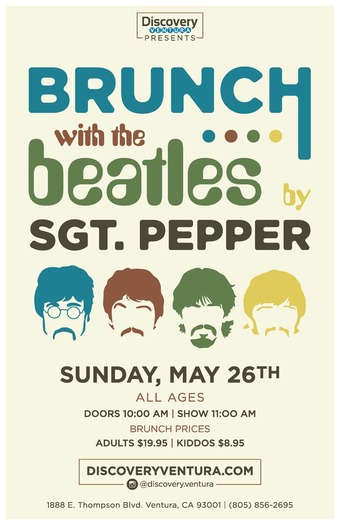 Brunch With The Beatles at Discovery Ventura