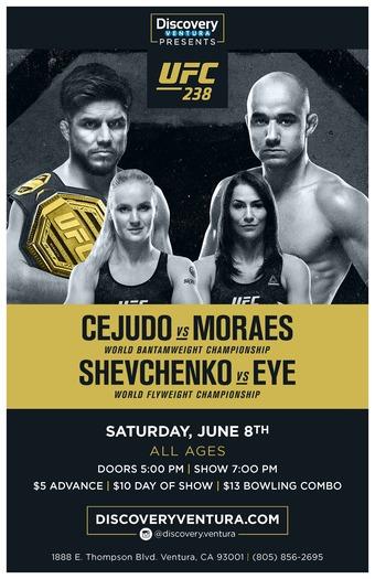 UFC 238: Cejudo vs. Moraes at Discovery Ventura