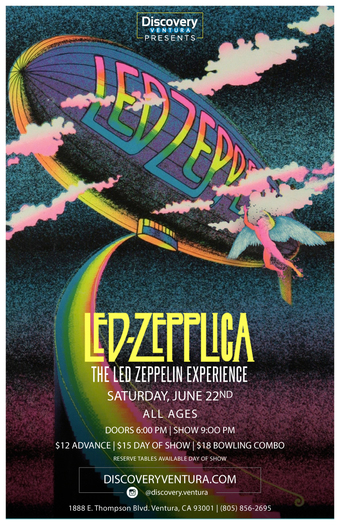 Led Zepplica - Tribute to Led Zeppelin at Discovery Ventura