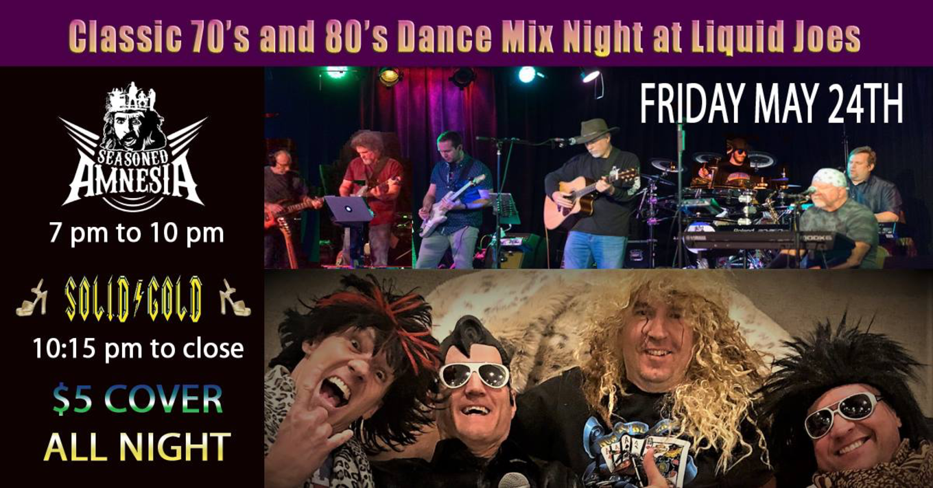 Classic 70's and 80's Dance Mix - Tickets - Liquid Joes
