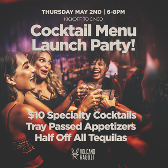 Summer Cocktail Menu Launch Party!