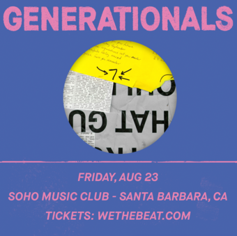 Generationals w/ Pure Bathing Culture - Santa Barbara, CA