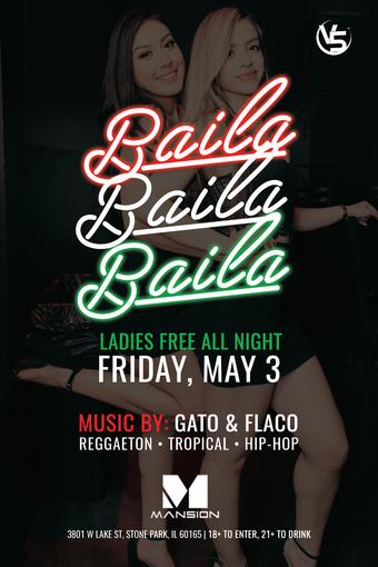 Baila, Baila, Baila Fridays