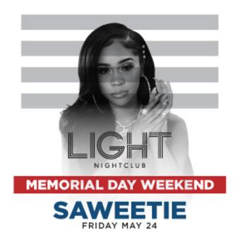 Saweetie at LIGHT Las Vegas