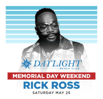Rick Ross at DAYLIGHT Las Vegas