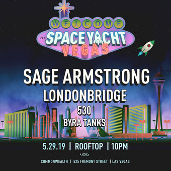 Club Soda x Space Yacht w/ SAGE ARMSTRONG (Night Bass, Dirtybird)