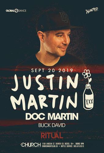 Justin Martin + Doc Martin