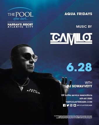 Aqua Fridays with DJ Camilo