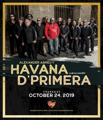 Conga Room presents Havana D'Primera