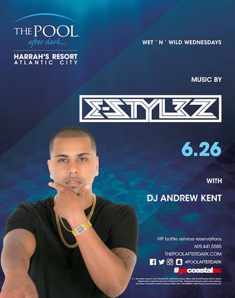 Wet 'N' Wild Wednesdays featuring DJ E-Stylez