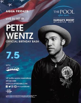 Aqua Fridays featuring a Live DJ Set by Pete Wentz