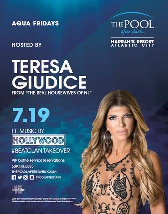 Aqua Fridays hosted by Teresa Giudice