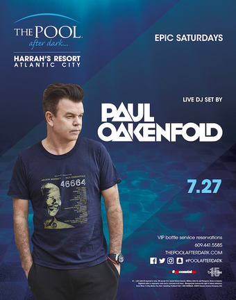 Epic Saturdays featuring Paul Oakenfold & David Solomon
