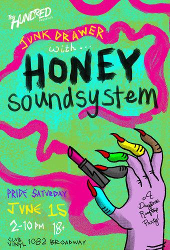Honey Soundsystem - Junk Drawer at Club Vinyl