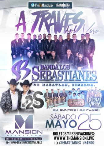 Banda Los Sebastianes at Mansion Nightclub