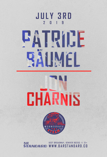 Patrice Baumel + Jon Charnis