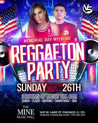 Reggaeton & Bachata Party @ The Mine Music Hall