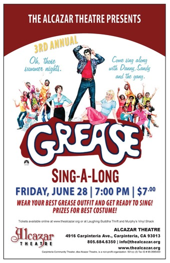 3rd Annual Grease Sing Along