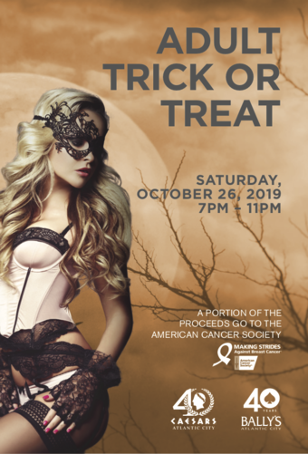 5th Annual Adult Trick or Treat at Bally's & Caesars