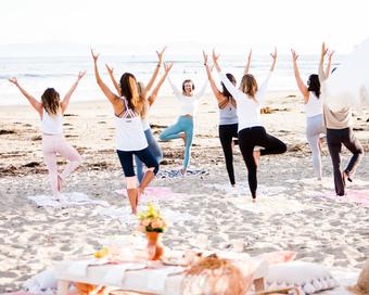 Summer Solstice Beach Yoga & Picnic Brunch