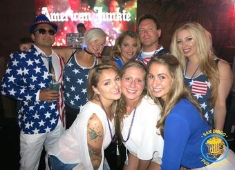U.S.A. 4th of July Pub Crawl