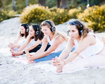 Silent Beach Yoga & Intention Setting with Women Who Warrior