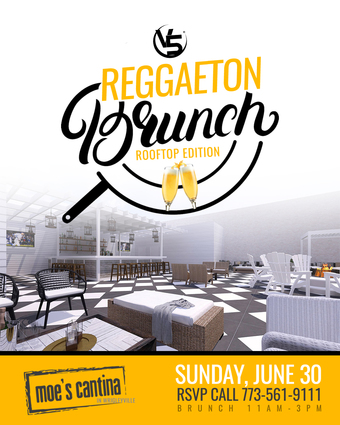 Reggaeton Rooftop Brunch