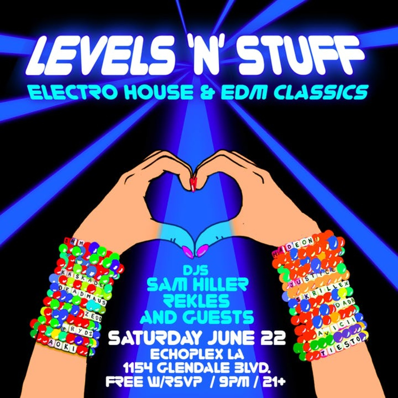 Levels N' Stuff: Electro House & EDM Classics - Tickets