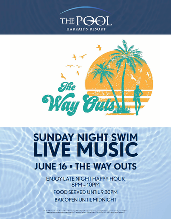 Sunday Night Swim with The Way Outs