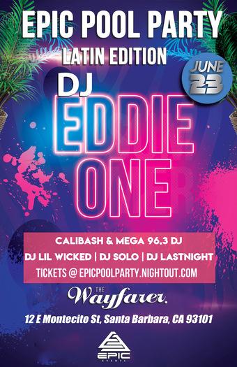 EPIC Pool Party // June 23rd // The Wayfarer