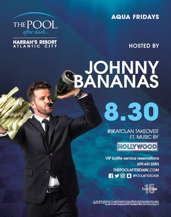 Aqua Fridays featuring Johnny Bananas