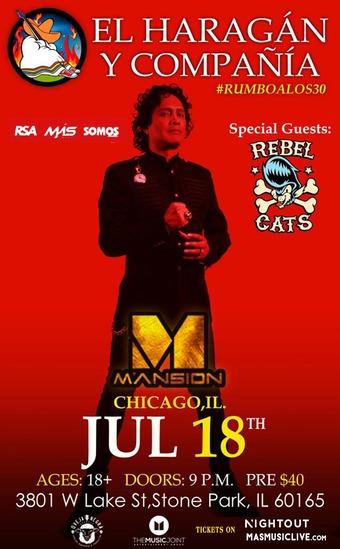 El Haragan y Compania at Mansion Nightclub