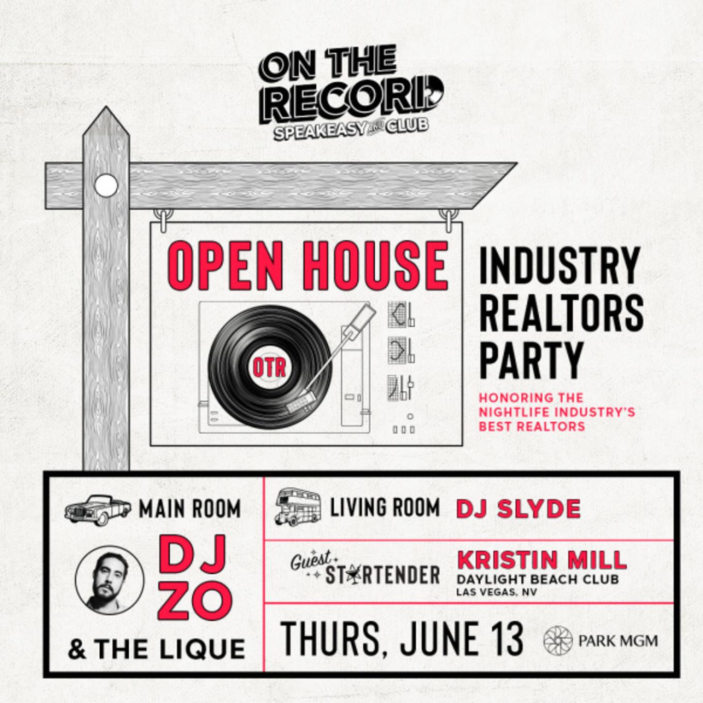 OPEN HOUSE OTR - Tickets - PARK MGM, Las Vegas, NV - June 13