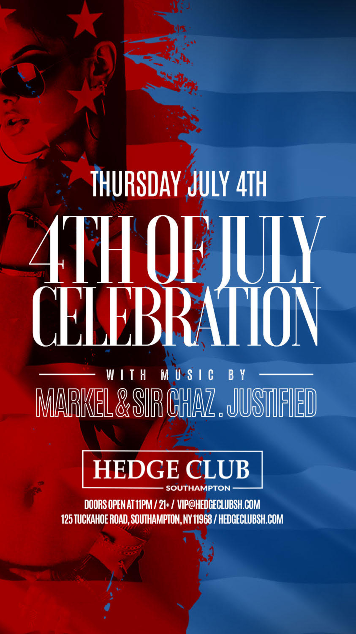4th of July at The Hedge Club - Tickets - The Hedge Club