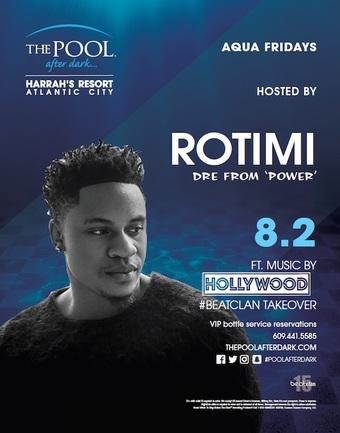 Aqua Fridays featuring Rotimi