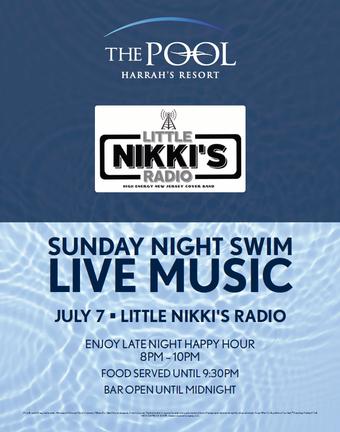 Sunday Night Swim with Little Nikki's Radio