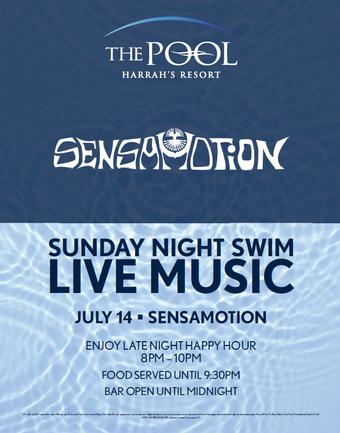 Sunday Night Swim with Sensamotion