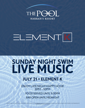 Sunday Night Swim with Element K
