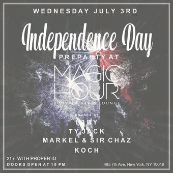 July 3rd at Magic Hour