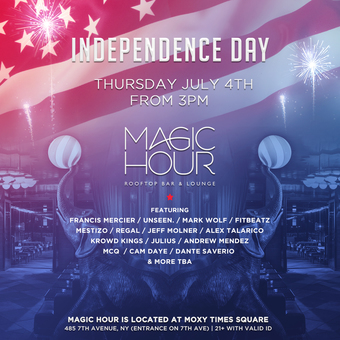 4th of July Party at Magic Hour