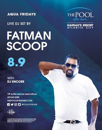 Aqua Fridays featuring Fatman Scoop
