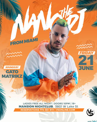Miami Night With Nano the DJ