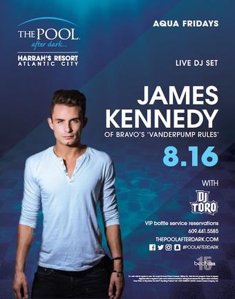 Aqua Fridays featuring James Kennedy