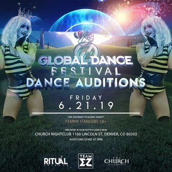 Global Dance Festival 2019 Dancer Auditions