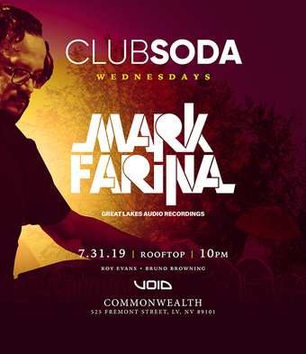 Club Soda w/ MARK FARINA