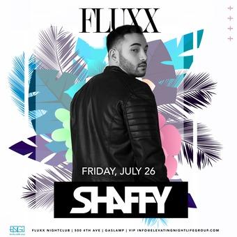 Shaffy at FLUXX
