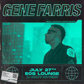 Gene Farris at EOS Lounge 7.27.19
