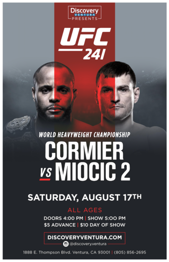 UFC 241: Cormier vs. Miocic 2 at Discovery Ventura